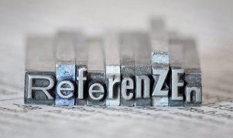 Referenzen in der Bewerbung