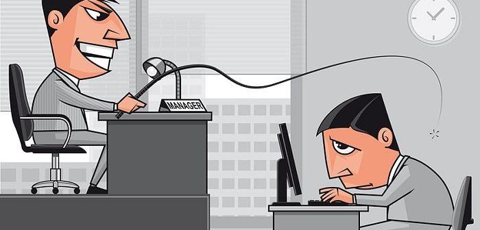 Bossing ist Mobbing von Chef oder der Personalabteilung.
