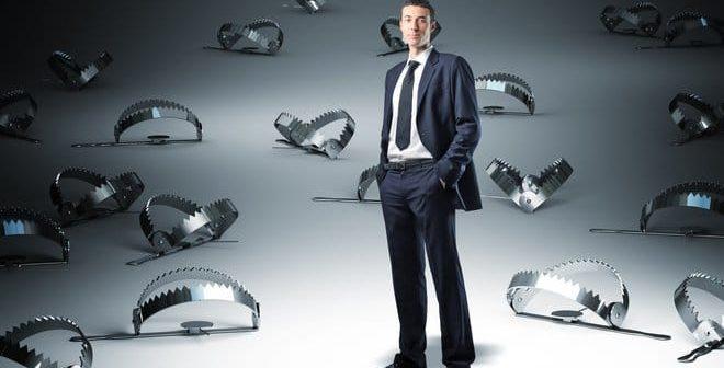 Karrierefallen hindern manchen Manager daran, weiter nach oben zu gelangen.