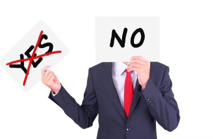 Nein zu sagen und Grenzen setzen