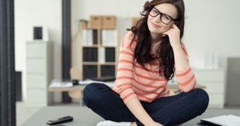 gelassener und entspannter und gesünder bei der Arbeit