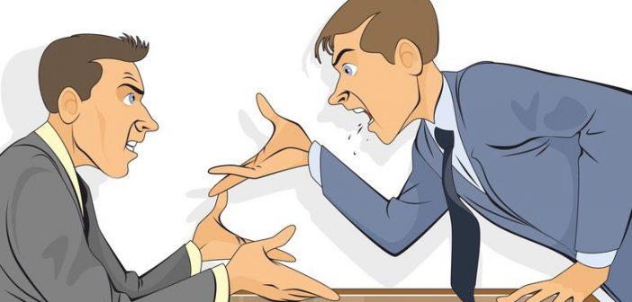 aggressiver Bewerber im Vorstellungsgespräch