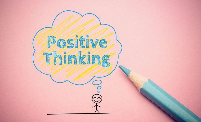 Eine positive Grundeinstellung haben