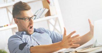 Email-Peinlichkeit im täglichen Büroalltag
