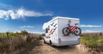 Mit dem Wohnmobil an den Strand