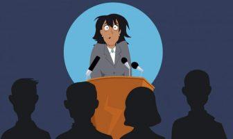Mit einer miesen Redekunst schläfern Sie Ihre Zuhörer ein