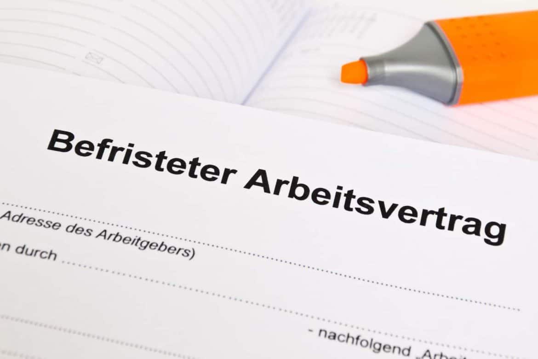 Befristeter Arbeitsvertrag Kündigung Verlängerung Checkliste