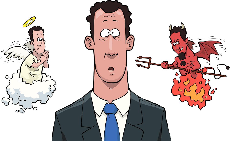Engel oder Teufel - Wie soll man sich entscheiden