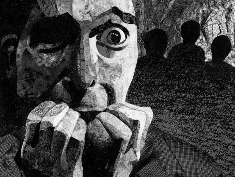 Person ist Opfer von Gaslighting, einer Form von emotionaler Gewalt