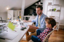 Homeoffice: 7 Tipps, wie die Arbeit mit Kind im Haus klappt