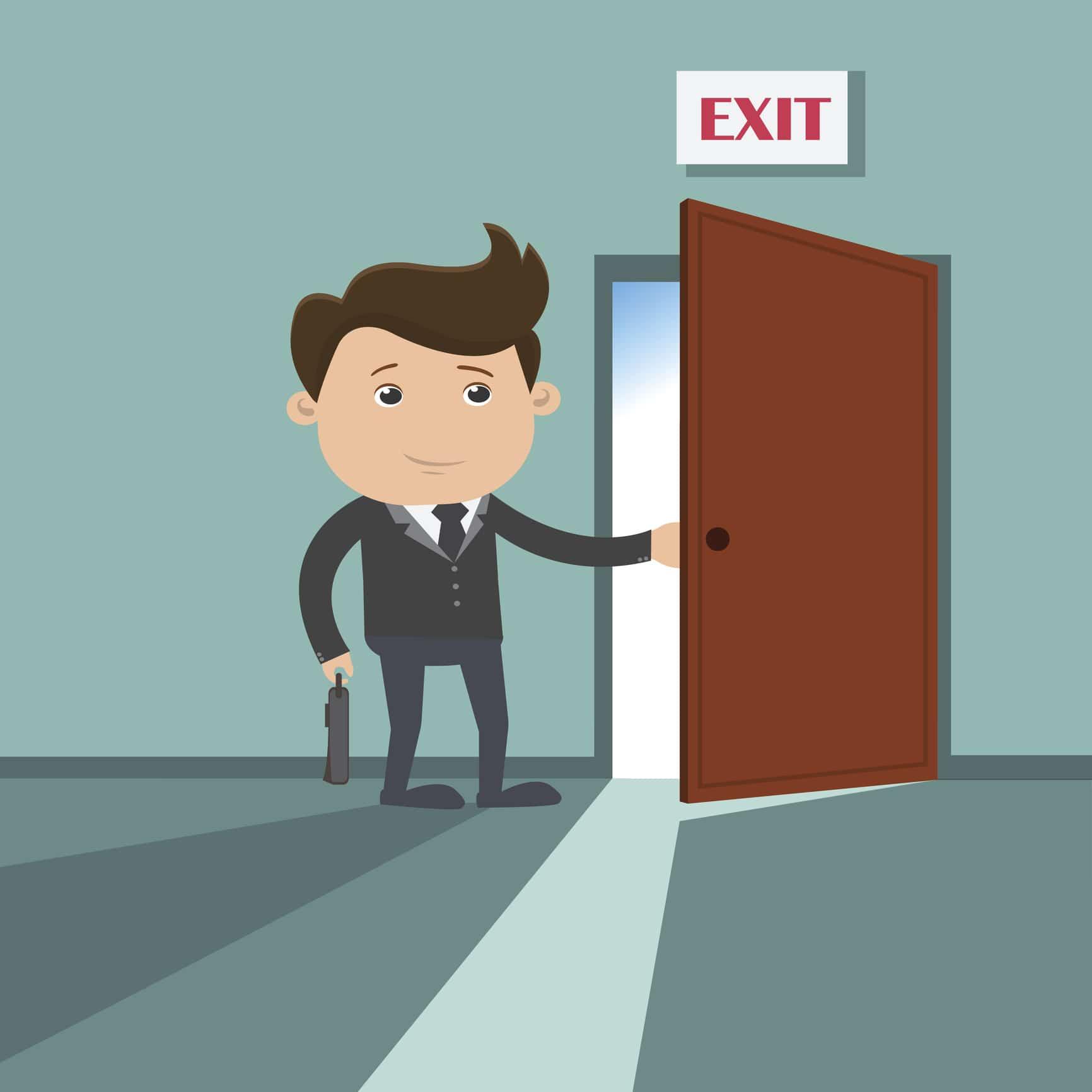 Mitarbeiter verlässt nach 7 Jahren das Unternehmen und wechselt den Job