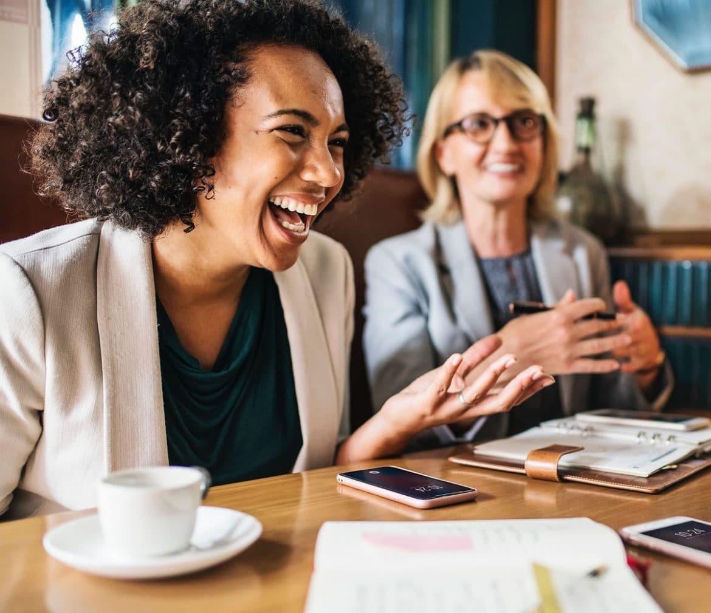 Lachen ist gesund und macht glücklich, nicht nur im Job