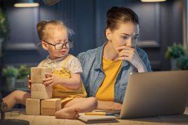 My mum is working – Wenn das Kind mit ins Büro darf