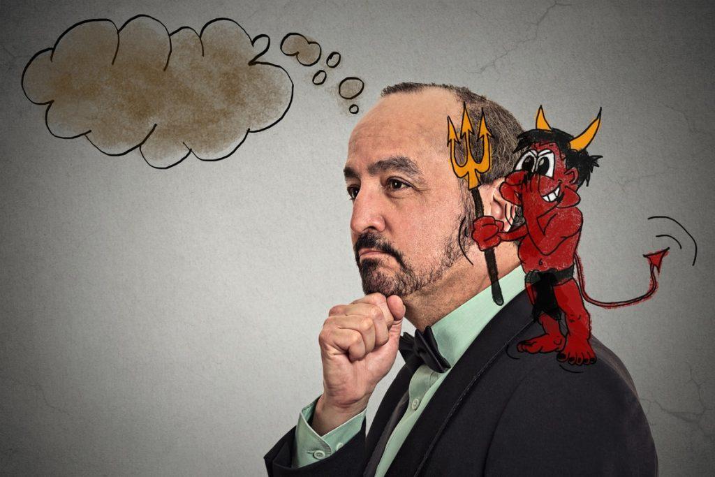 """Der """"Horn Effekt"""", auch als """"Teufelshörner Effekt"""" bekannt, ist ein psychologischer Wahrnehmungsfehler"""
