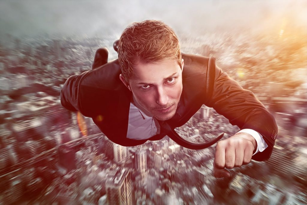 Zu einer steilen Karriere gehören immer auch ein bisschen Risiko und Wagemut