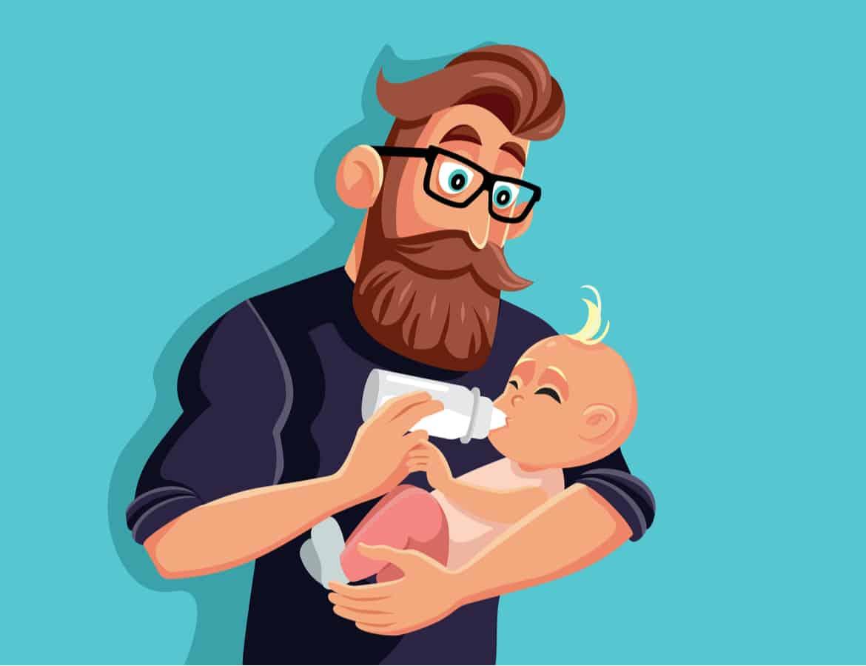 Mehr Zeit mit der Familie und den (neugeborenen) Kindern – das ist ein Wunsch, der viele Männer umtreibt
