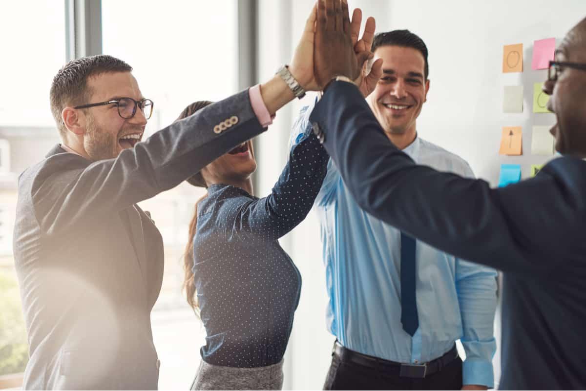 Wer teamfähig ist, kann sein Können und sich selbst in einem Team optimal einbringen