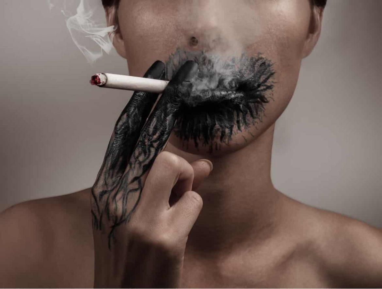 Rauchen ist eine sehr schlechte Angewohnheit und kann tödlich enden