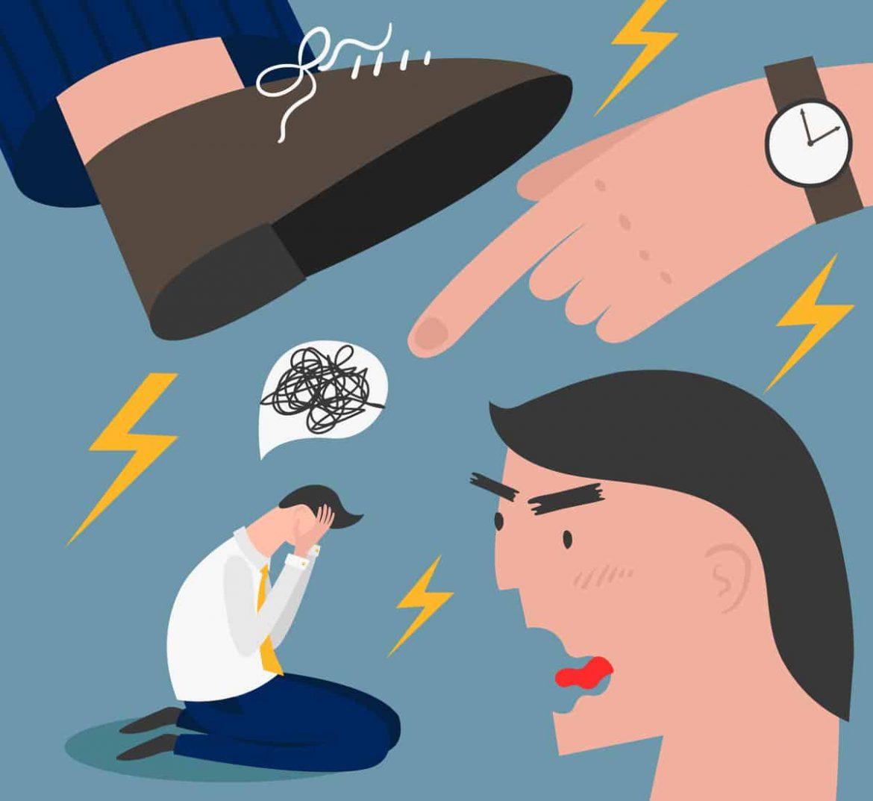 Burnout durch Mobbing