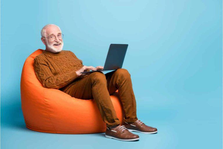 Man ist nie zu alt zum Lernen.