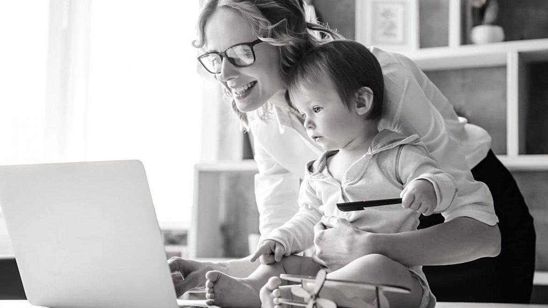 Die Selbständigkeit mit Kindern verlangt Eltern einiges ab