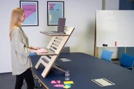 Ergonomie am Arbeitsplatz: Ist Arbeiten im Stehen gesünder?